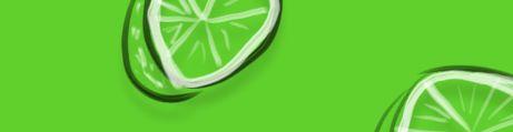 Solid Limone Grün