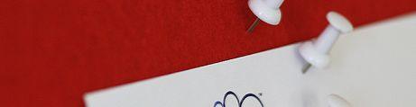 Rubin Rot mit Weißes Profil
